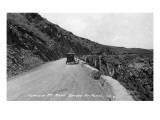 Rocky Mt Nat'l Park, Colorado - Lookout Mountain Road with Model-T Prints by  Lantern Press