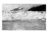 Cordova, Alaska - View of Child's Glacier Kunstdrucke