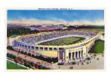 Buffalo, New York - Buffalo Civic Stadium View Poster by  Lantern Press