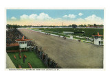 Louisville, Kentucky - Famous Churchill Downs on Derby Day Scene Prints by  Lantern Press