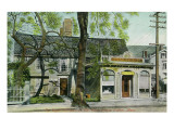 Salem, Massachusetts - Roger Williams House Exterior, Pharmacists Prints by  Lantern Press