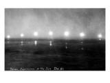 Alaska - Seven Exposures of the Sun Poster by  Lantern Press