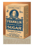 Franklin Granulated Sugar Prints
