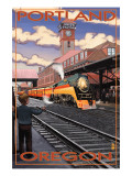 Union Train Station - Portland, Oregon Print