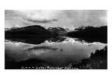 Alaska - Richardson Hwy; View of Summit Lake Prints by  Lantern Press