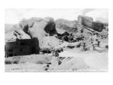 Rocky Mt Nat'l Park, Colorado - Red Rocks Park; View of a Red Rocks Pueblo Prints