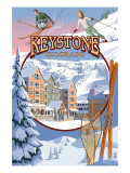 Keystone, Colorado Montage Posters by  Lantern Press