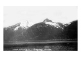 Skagway, Alaska - View of Mount Harding Poster by  Lantern Press