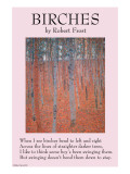 Birches Print