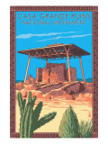 Casa Grande Ruins National Monument - Arizona Posters