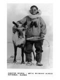 Kotzebue, Alaska - Chester Seveck, Arctic Reindeer Herder Posters par  Lantern Press