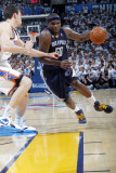 Memphis Grizzlies v Oklahoma City Thunder - Game Five, Oklahoma City, OK - MAY 11: Zach Randolph an Photographic Print by Layne Murdoch