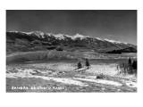 Salida, Colorado - Sangre de Cristo Mountain Range Kunst von  Lantern Press
