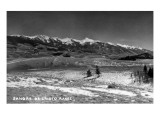 Salida, Colorado - Sangre de Cristo Mountain Range Prints by  Lantern Press