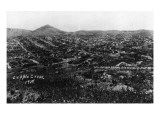 Cripple Creek, Colorado - Panoramic View of Town Posters