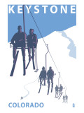 Keystone, Colorado Ski Lift Art