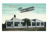 Dayton, Ohio - Wright Brothers Airship Factory Exterior Print by  Lantern Press