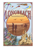 Long Beach, Washington Montage Views Posters by  Lantern Press