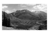 Silverton, Colorado - Aerial View of Town Prints