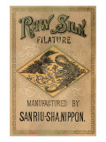 Raw Silk Filature By Sanriu-Sha, Nippon Posters