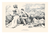 Advice To Students Prints by Charles Dana Gibson