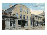 Salem, Massachusetts - Roger Williams House or Witch House Print