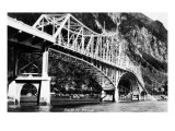 Alaska - View of the Douglas Bridge Prints by  Lantern Press