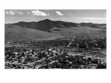 Missoula, Montana - Panoramic View of Town Posters by  Lantern Press