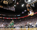 Boston Celtics v Miami Heat - Game Five, Miami, FL - MAY 11: LeBron James Fotografie-Druck von Mike Ehrmann
