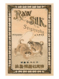 Raw Silk Seigiyosha Japan Posters