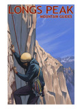 Longs Peak Mountain Guides - Colorado Art
