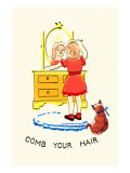 Comb Your Hair Poster