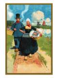 Sunlight Soap - Dutch Couple Poster