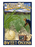 Walla Walla, Washington - Sweet Onions Print