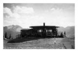 Aspen, Colorado - Sun Deck atop the Chair Lift Kunstdrucke von  Lantern Press