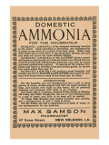 Domestic Ammonia Posters