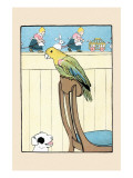Polly Parrot Posters by Julia Dyar Hardy