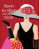 Born With Style Art par Kathy Middlebrook