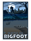 Seattle, Washington Bigfoot Posters