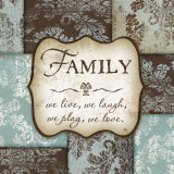 Family Prints by Jennifer Pugh