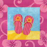 Flip Flops Prints by  Sapna
