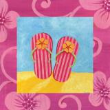 Flip Flops Prints by  Sapna