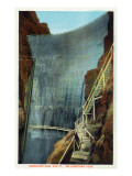 Yellowstone Nat'l Park, Wyoming - Shoshone Dam Posters
