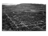 Durango, Colorado - Aerial View from Smelter Hill of Town and Airport Prints by  Lantern Press