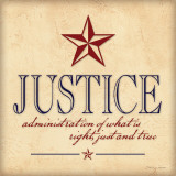 Justice Posters by Stephanie Marrott