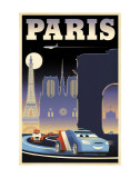Cars 2: Paris Affiches