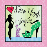 New York Affiche par Louise Carey