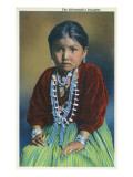 Navajo Silversmith's Daughter Affiches par  Lantern Press