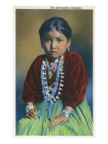 Navajo Silversmith's Daughter Prints