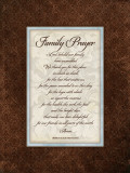 Family Prayer Posters by Stephanie Marrott
